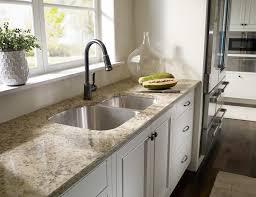 double sink quartz kitchen countertops