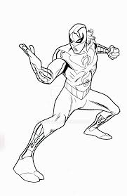 Lego spiderman coloring book pages marvel superhero episode avengers. Iron Fist Coloring Pages Coloring Home
