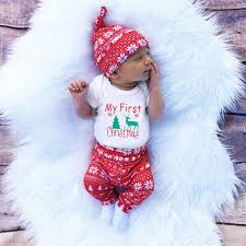 3pcs cute newborn clothing set baby boy s first clothes infant romper pants hat outfit