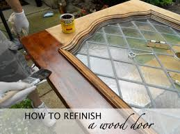 how to refinish front doorShut the Front Door  DO or DIY
