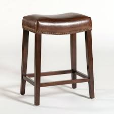 brown leather bar stools stool ireland uk saddle kitchen excellent astou