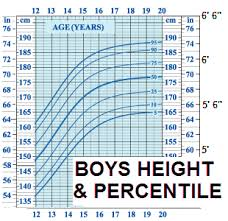 Who Height Chart Height At Adulthood Based On Birth Length And Percentiles On