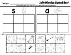You can do the exercises online or download the worksheet as pdf. 10 Jolly Phonics Ideas Jolly Phonics Phonics Jolly