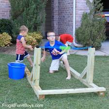 how to build an awesome water balloon launcher