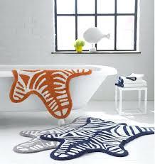 animal print bath rug animal prints bathroom rugs will add that extra zing to your bathroom animal print bath rug