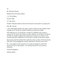 Appeal Letter Template Word Xtech Me