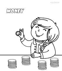 Printable Money Coloring Pages For Kids Cool2bkids Coloring Home