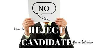 How To Reject A Job Candidate How To Reject A Candidate Or A Job Applicant Useful Guide Wisestep