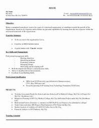 Resume Samples Of Mba Hr Fresher | Resume Examples