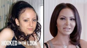 Plastic surgery addicted pornstar
