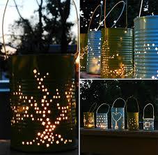 diy outdoor lighting. Tin Can Lanterns Collage 02 Diy Outdoor Lighting