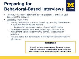 Behavioral Based Behavioral Interviewing The Right And Wrong Way To Prepare For And