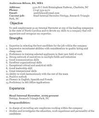 Nurse Recruiter Resume Cool 48 Free Junior Recruiter Resume Sample Sample Resumes