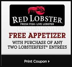 Red Lobster Lobsterfest Coupons 2018 Gaia Freebies Links