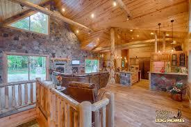 Small Log Cabin Plans    Refreshing Rustic Retreats  Backyard Open Log Home Floor Plans