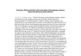 analysis of romeo essay character analysis of romeo essay