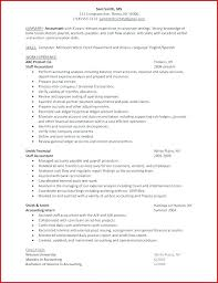 Job Objectives On Resume New Resumes For Accountants Resume For Accounts Assistant Job Resumes