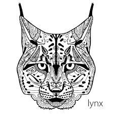 идеи для татуировки рысь