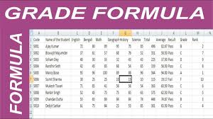 Grade Book Template Microsoft Word Ms Excel How To Make Grade Sheet Create Marksheet In Excel