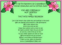 Printable Family Reunion Invitations Family Reunion Party Invitations Party Ideas Family Reunion