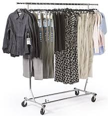 rolling rack is collapsible for storage collapsible clothing rack f86