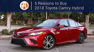2018 Toyota Camry Hybrid | 5 Reasons to Buy | Autotrader - YouTube