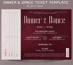 Banquet Tickets Sample Banquet Tickets Template Magdalene Project Org