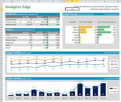 marketing dashboard template. Building a Marketing Dashboard in Excel Analytics Edge Help