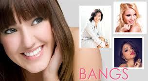 bangs help conceal hair loss