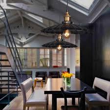 winsoon modern vintage industrial rustic bar loft metal pendant ceiling lights fixtures