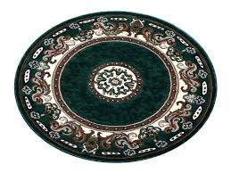 teal round area rug traditional fl round area rug hunter green 6 feet 8 inch for