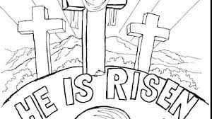 Free Religious Easter Coloring Pages To Print Loves Me Religious
