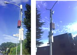 Image result for pictures of microwave cell phone nodes on telephone poles
