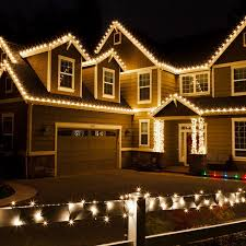 outdoor xmas lighting. Christmas Lights On Houses Outdoor Xmas Lighting