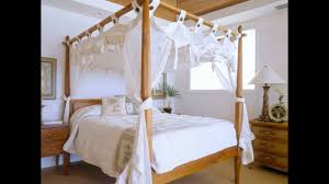 Bamboo Four Poster Bed