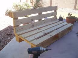 Picture of Pallet Bench Project