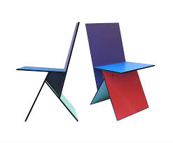 vilbert chairs by verner panton for ikea 1993 set of 2 for sale