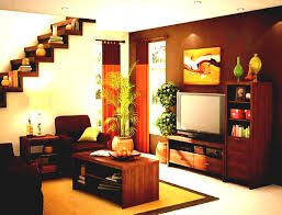 indian style of house simple interior design living room hall in