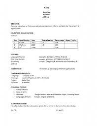 Resume Generator Linkedin Resume For Study