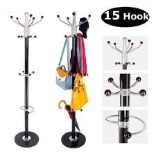 Coat And Bag Rack Hat Stand eBay 97