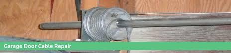 repair garage door cable replace garage door cable torsion spring