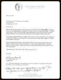 General Letters Of Appreciation The Society Of The Friendly Sons