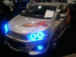 Chevrolet Sonic Lights File Chevrolet Sonic Racing Sport Style Front 2012 Tokyo