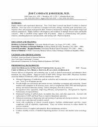 Medical Resume Samples For Residency Sidemcicek Com
