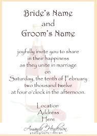 Formal Invite Formal Invitation Layout Sample Of Wedding Invitation Wording Sample