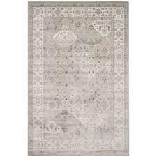 safavieh persian garden silver ivory 7 ft x 9 ft area rug