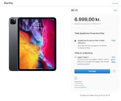 ประเทศที่จำหน่าย iPad Pro เป็นประเทศแรก 18 มีนาคม 2020 เริ่มรับสินค้า 25  มีนาคม 2020 ราคาเริ่มต้น 22,087 บาท - Pantip