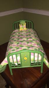Used American girl doll Kit Kittredge trundle bed set for sale - letgo