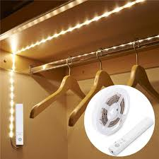 Image Cove Lighting Jlorihuelacom Wireless Night Light Strip Pir Led Motion Sennsor Closet Light Led Strip Lights For Under Bed Cabinet Wardrobe Stairs Hallway Blue Led Light Strips
