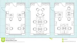 small office plans layouts. Surprising Royalty Free Vector Office Ideas Small Plans Layouts